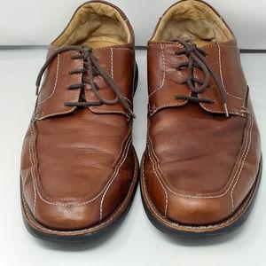 JOHNSTON & MURPHY Mens Sheepskin Leather Shoes 11M